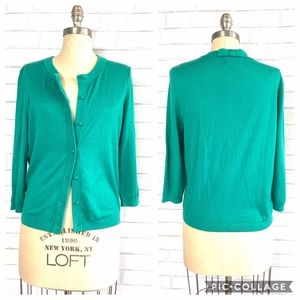 Kate Spade NY Knit Cashmere Button-Down Cardigan